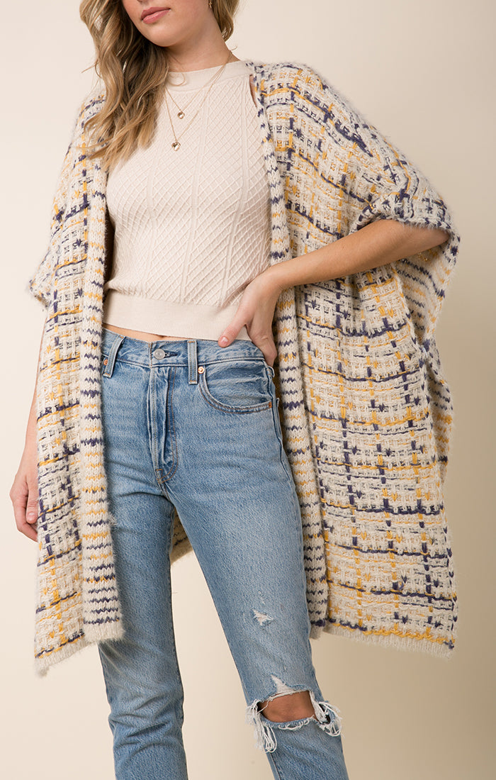 Dulce Open Front Sweater