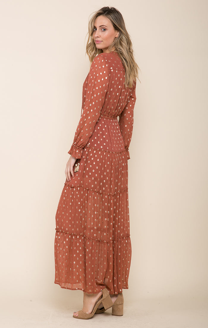 Elle Tiered Maxi