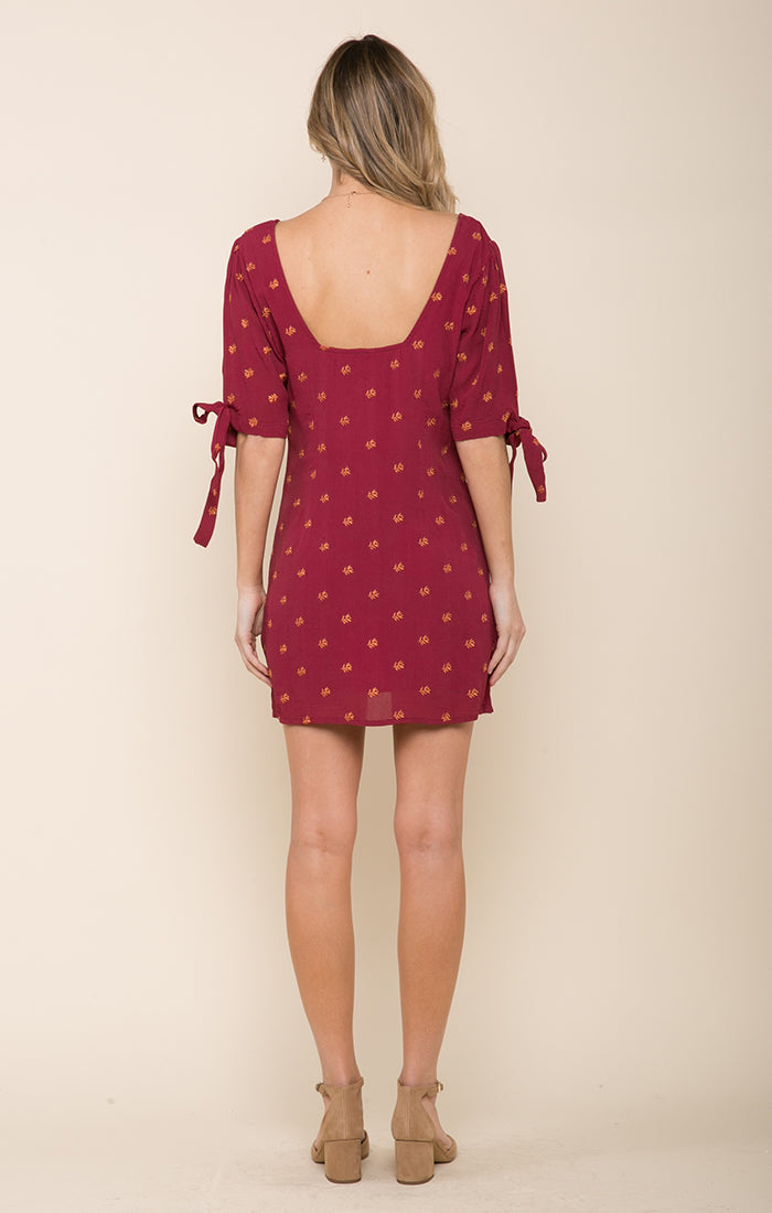 Autumn Love Button Down Mini Dress