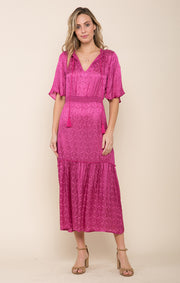Sweet Temptation Tiered Maxi Dress