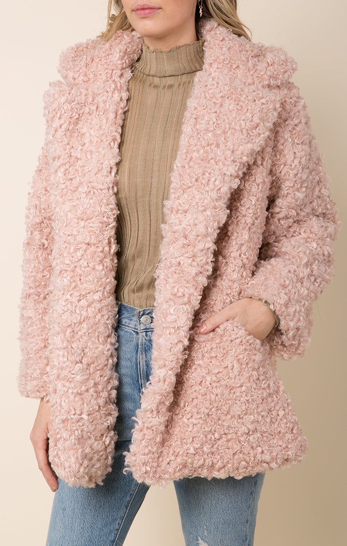 TENLEY TEDDY COAT