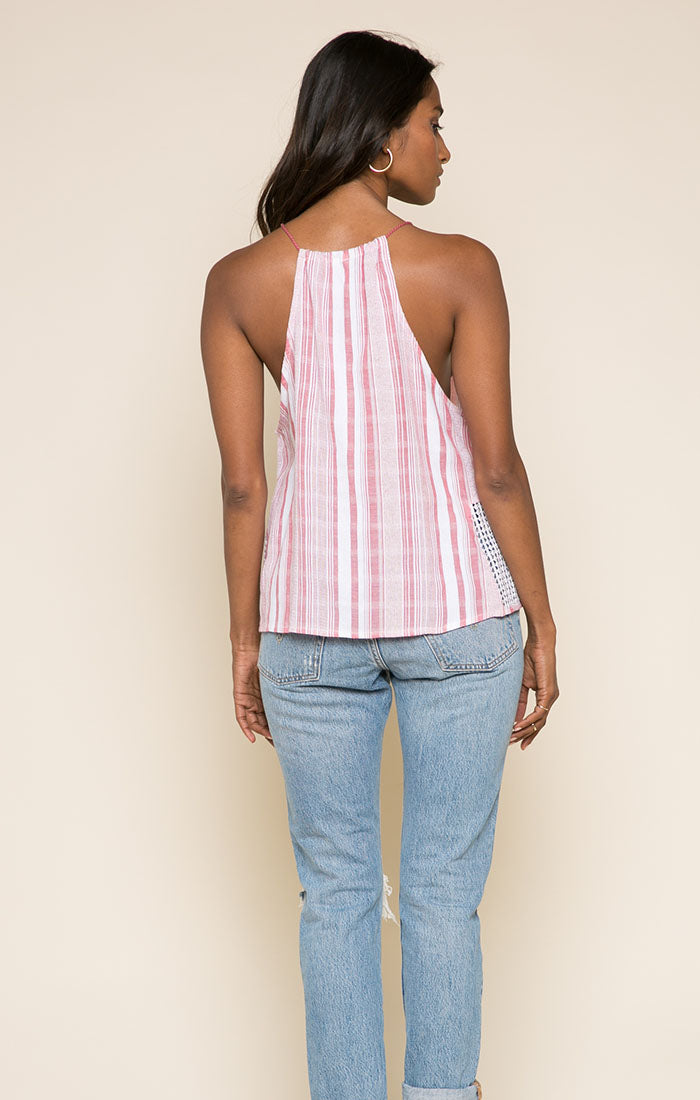 Candy Stripes Tassel Tank