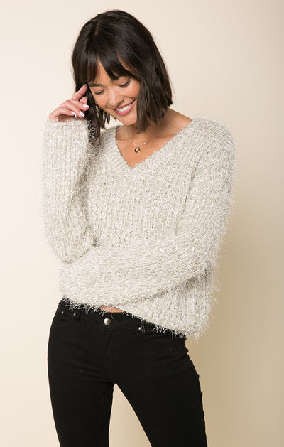 Farrah Fuzzy Sweater