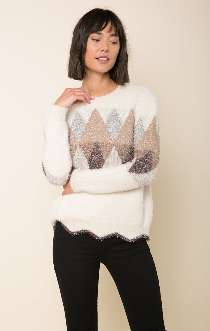Dreaming Of Diamonds Sweater