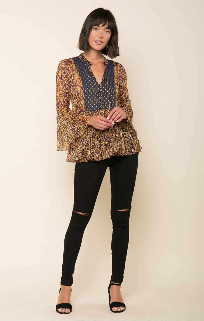 Good As Gold Blouse