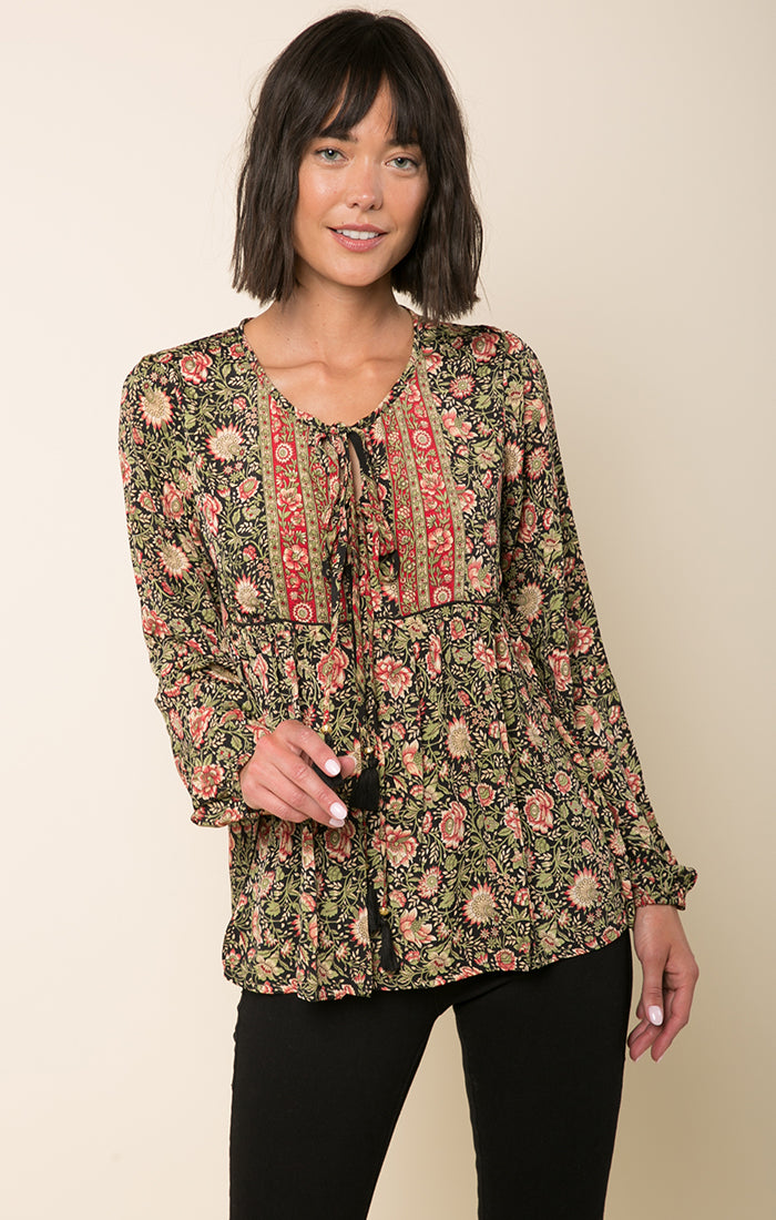 Wild Rose Trails Blouse