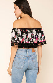 Rose Meadow Off Shoulder Top