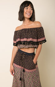Into The Horizon Off Shoulder Top