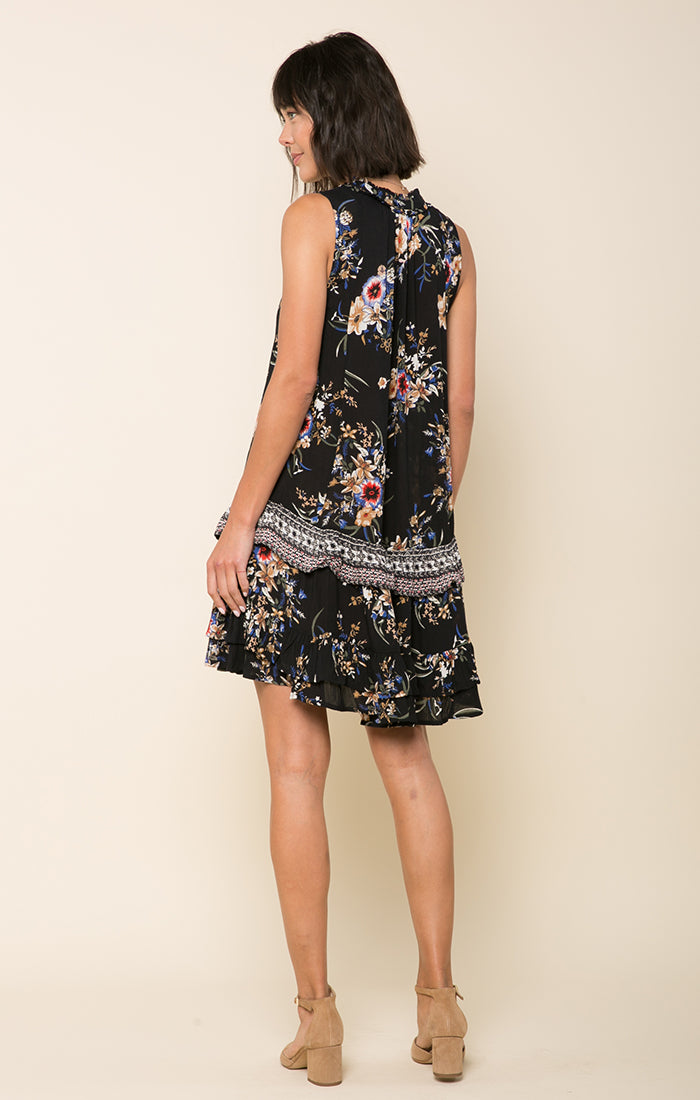 Hidden Garden Ruffle Dress