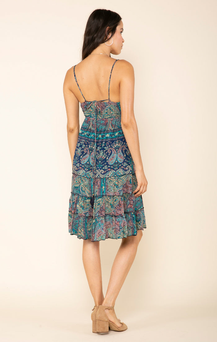 MYSTIC GARDEN SHORT DRESS