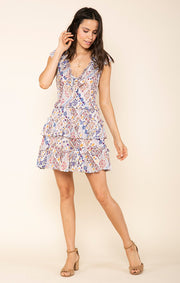 Romina Short Ruffle Dress
