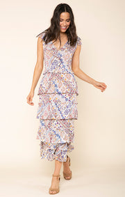 Romina Ruffle Maxi Dress