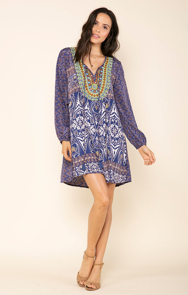 Micah Long Sleeve Dress