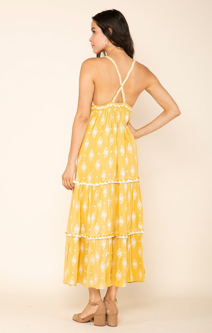 SUMMERLAND CROSS BACK MAXI