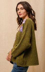 DAISY PULLOVER SWEATER