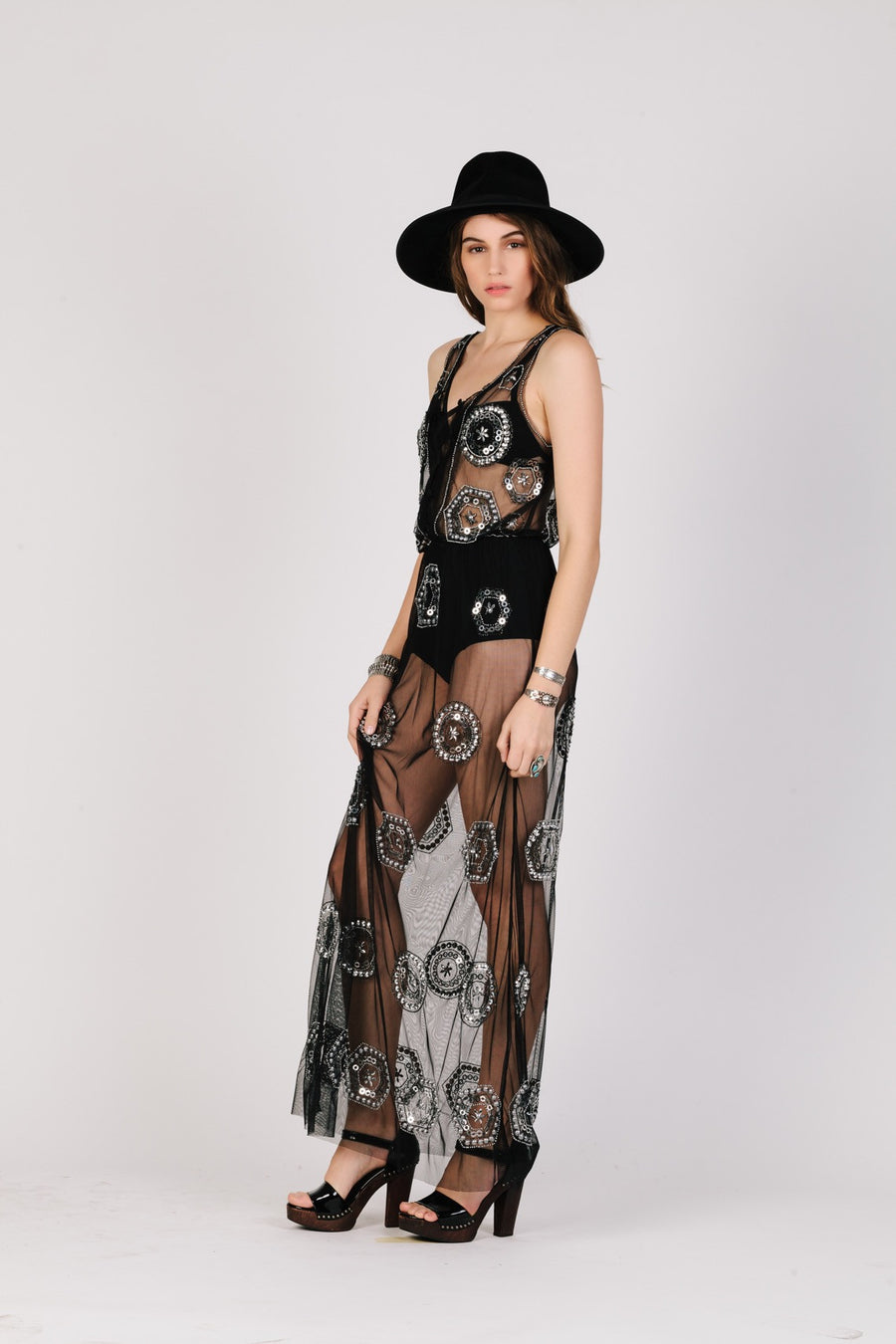 Heavy Metal Maxi Dress