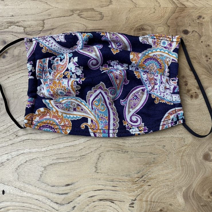 3X-Face Mask Paisley