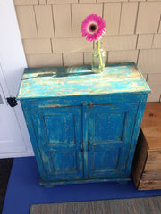 Blue Customer Cabinet