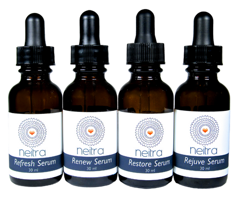 Face Serums - Refresh, Renew, Restore & Rejuve #neitrafaceserum