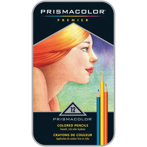 Prismacolor Premier Colored Pencils 12/Pkg