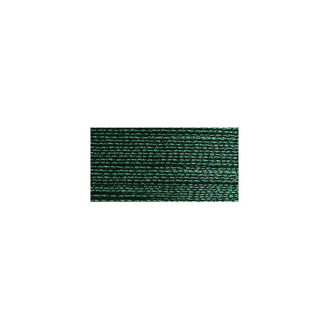 DMC Diamant Metallic Thread 38.2yd - Green Emerald