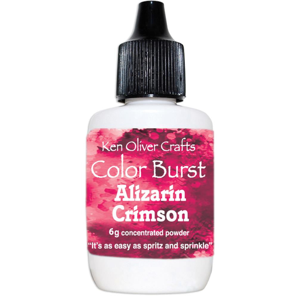 Color Burst - Alizarin Crimson
