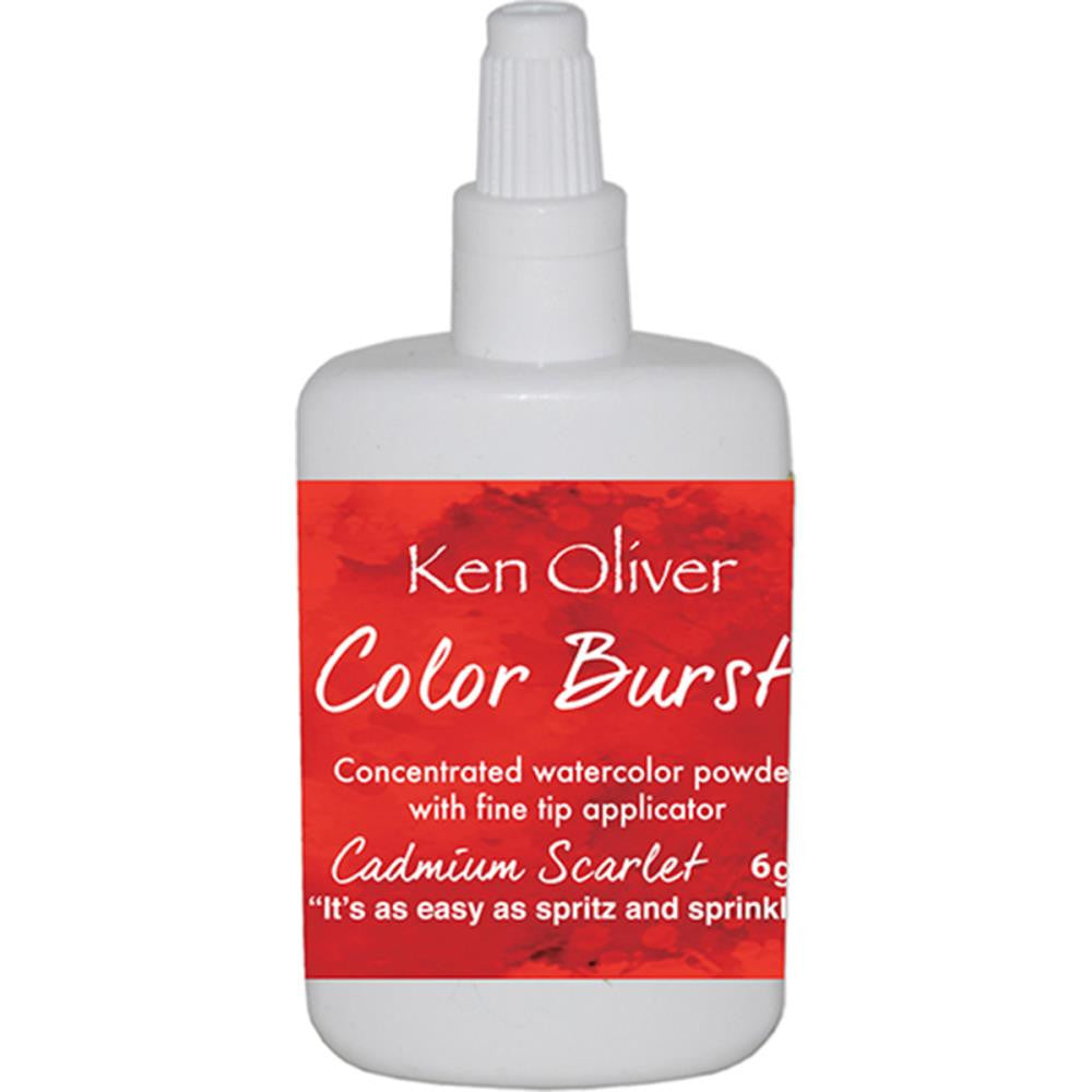 Color Burst - Cadmium Scarlet
