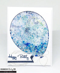 Tiny Birthday Cling Background
