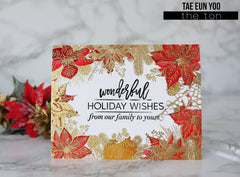 Holiday Border Cling Background