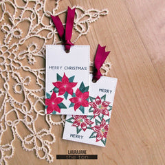 Christmas Poinsettia Mini Set
