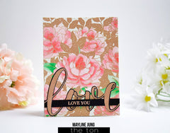 Peony Crush Cling Background
