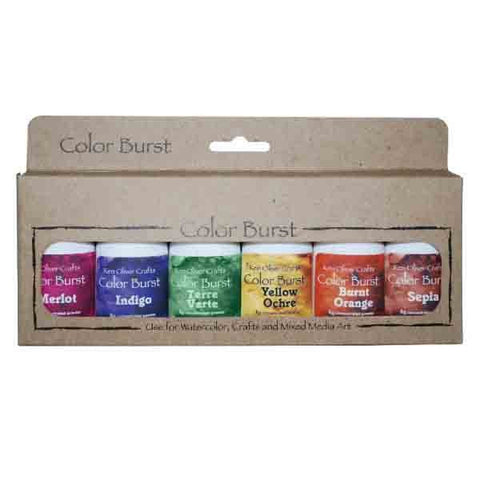 Color Burst 6 Pack - Earth Tones
