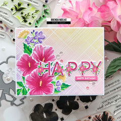 Spring Layered Alphas Coordinating Coverplate Die