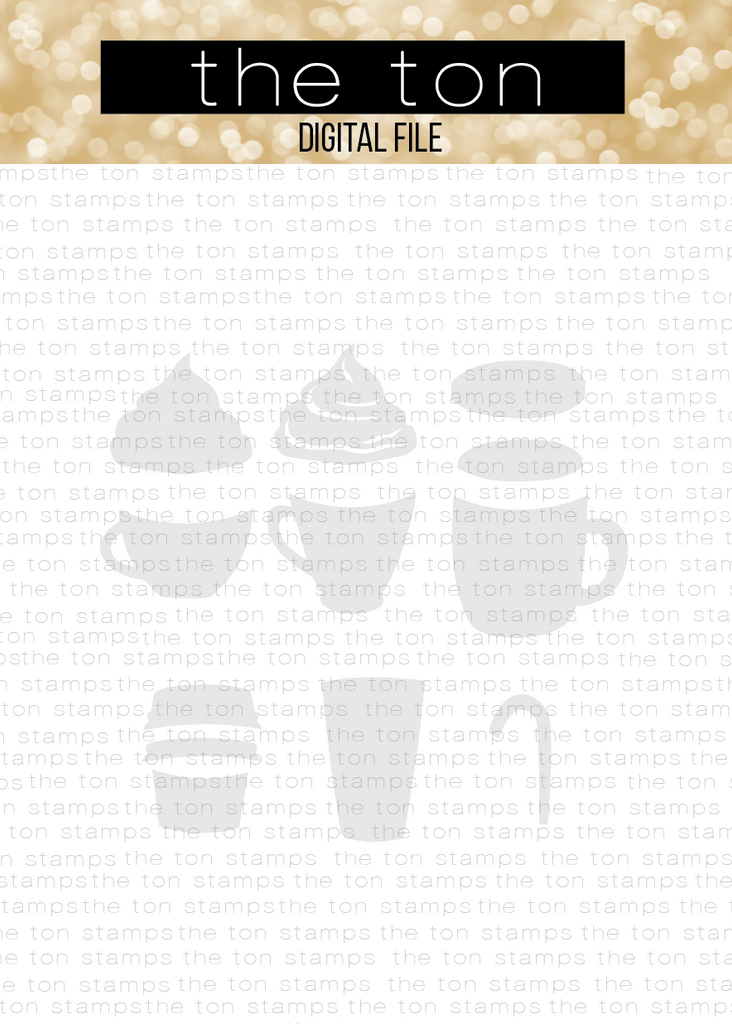 Coffee Bundle SVG Cut File