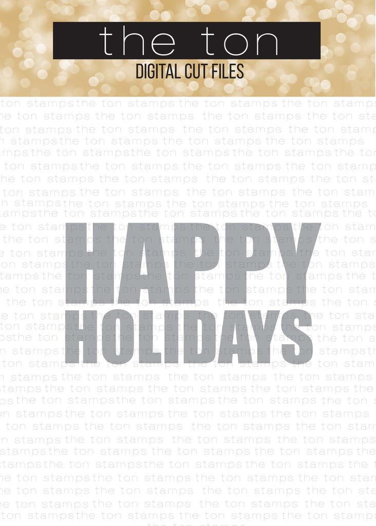46+ Happy Holidays Cutting File SVG