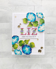 Layered Floral Alpha Stamp Bundle
