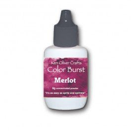 Color Burst - Merlot