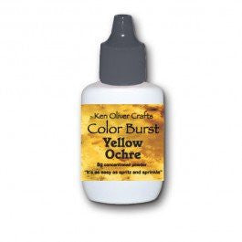 Color Burst - Yellow Ochre