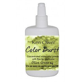 Color Burst - Olive Green