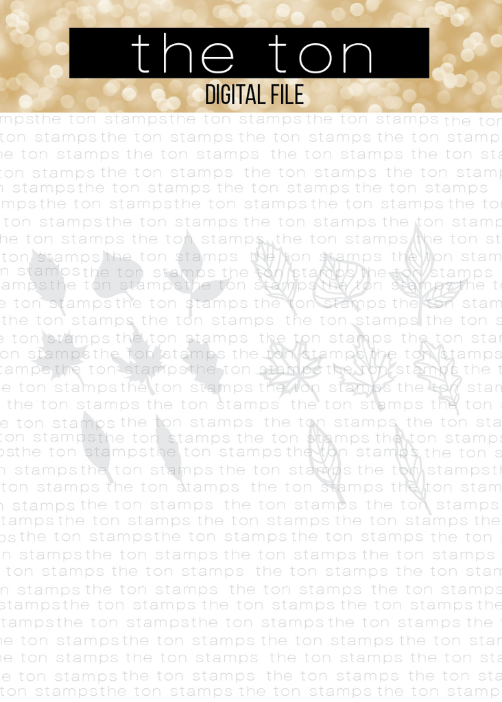 Leaf Bundle SVG Cut File