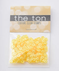 Lemon Chiffon Sequins - 10, 8, 6, 5, 4mm, Mixed