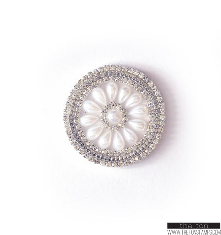 Medallion Crystal Embellishment