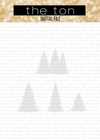 Pine Tree Silhouettes SVG Cut File