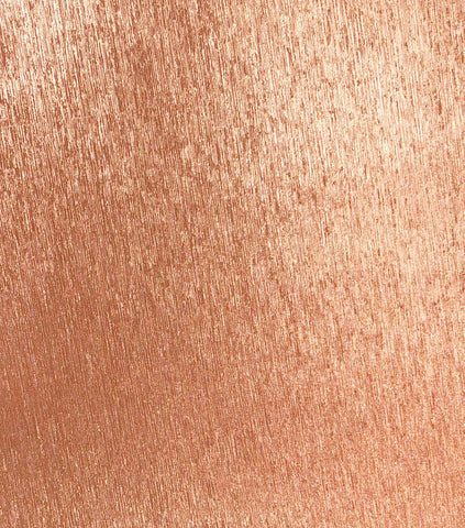 Adhesive Ribbed Glitter Paper - Rose Gold