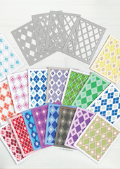 Diamond Plaid Layering Coverplate Dies