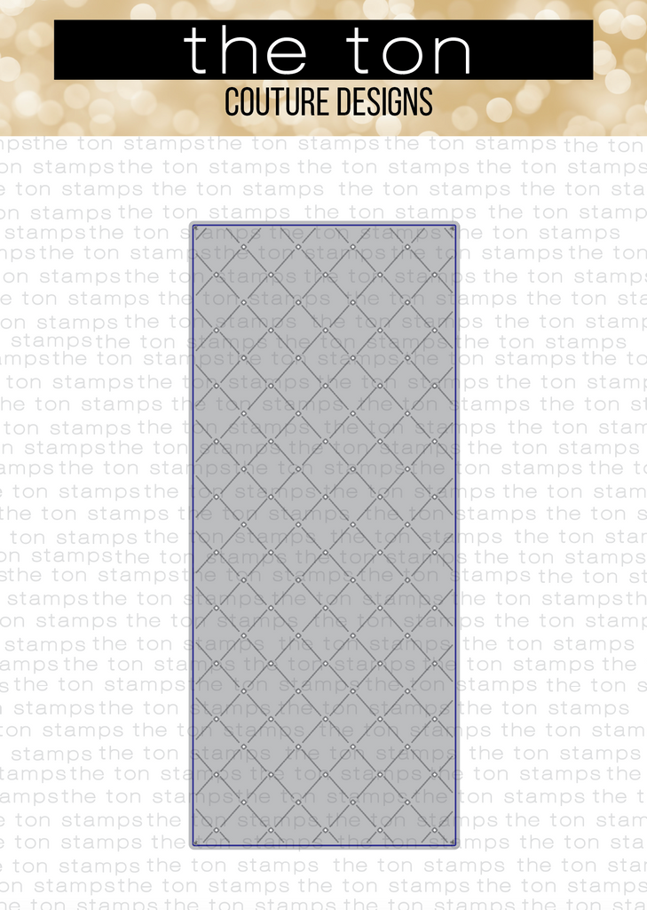 SLIMLINE - Quilted Coverplate Die