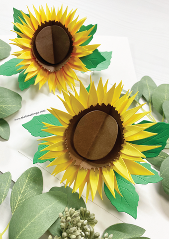 Pop-Up Sunflower Dies
