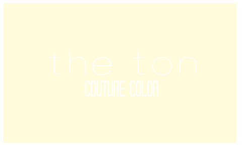 Couture Color - Soft Cream Dye