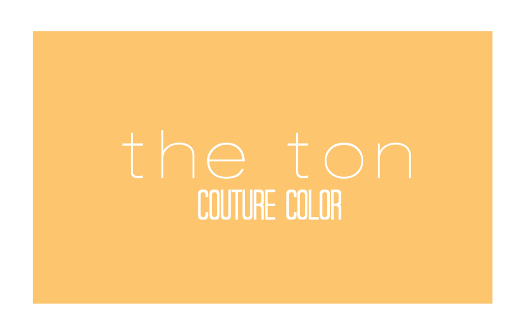 Couture Color - Amber Citrine Dye