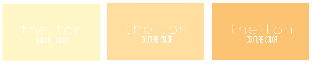 Couture Color - Citrine Collection